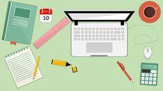 Σχεδιάζοντας σε λευκό χαρτί Office Powerpoint Templates, Office Graphics, Instructional Design, Microsoft, Flat Design, Learning, School, Projects, Tools