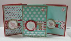 Fresh Prints DSP Stack Card Set with a sneak peek of Something to Say stamp set.