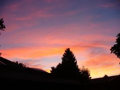 Sunset in Delta, BC July 2,2015