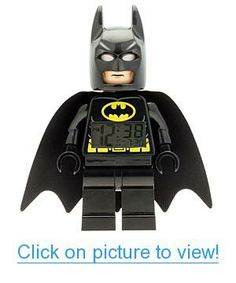 Help save Gotham City with this new iconic LEGO DC Universe Super Heroes Batman clock! The perfect addition to every LEGO DC Universe Super Heroes collection the decor features a digital lighted di. Minifigura Lego, Buy Lego, Lego Star, Legos, Lego Batman Figures, Lego Batman Movie, Batman Stuff, Spiderman, Batman Figura