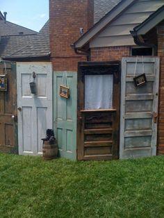 using old doors for wedding decorations   Vintage Doors « Embellished Weddings