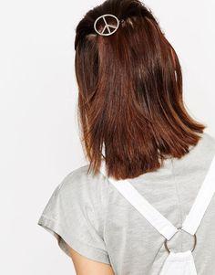 ASOS Peace Sign Hair Clip