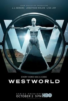 Poster for season 1 of HBO's Westworld.