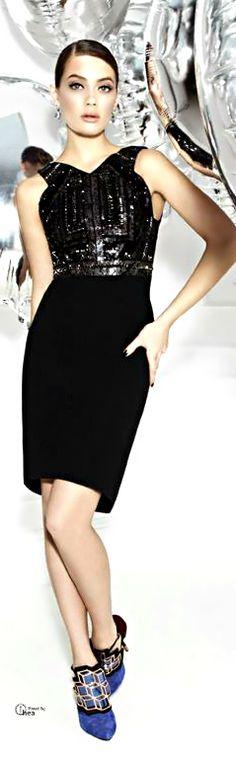 Antonio Berardi ● Embellished crepe dress