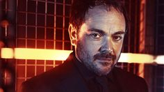 Mark Sheppard as Crowley. Aaaand now my pants are on fire