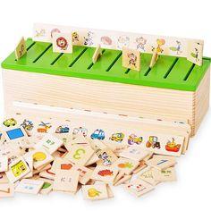 Highdas Baby-frühe Ausbildungs-Spielzeug für Kinder Spiel Montessori Spielzeug…