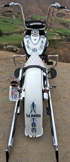 Buy California Gangster Softail Deluxe 21 Wheel Air Ride on 2040motos