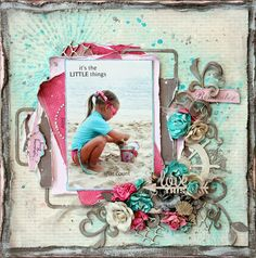 """Tina Marie - Forever and Always: """"Little Things"""" - The Scrapbook Store March Challenge"""