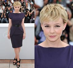 Carey Mulligan. I just think she's so cute, sweet, talented, and stylish.