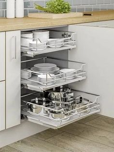 Individual + Pull-Out + Plus + - + To + Suit + + Wide + Base + Unit, + Supplie . - Individual + Pull-Out + Plus + - + To + Suit + + Wide + Base + Unit, + Supplie . Kitchen Pantry Design, Diy Kitchen Storage, Modern Kitchen Design, Home Decor Kitchen, Interior Design Kitchen, Kitchen Organization, Home Kitchens, Organization Ideas, Organizing