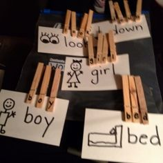 A great way to combine fine motor finger strengthening and literacy!