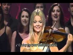 "Celtic Woman - ""Christmas Pipes"" little flavor of everything - vocals, pipes, fiddle, & bagpipes - Beautiful!"