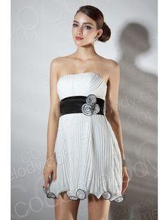 Romantic A Line Strapless Short Mini Ivory Organza Party Dress COZM14001  $69.00 Party Dress, Party Dress, Party Dress, Party Dress, Party Dress, Party Dress, Party Dress
