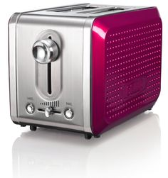 BELLA Dots Collection 2-Slice Toaster Pink $26.95 LOWEST PRICE GUARANTEE...PICK UP OR WE WILL SHIP FREE WORLDWIDE... 100% MONEY BACK SATISFACTION GUARANTEE www.shopculinart.com