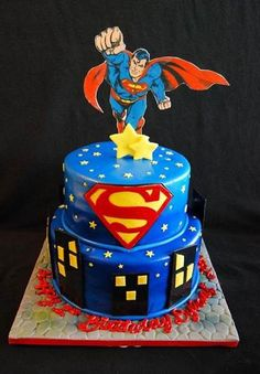 Superman Birthday Cakes Ideas