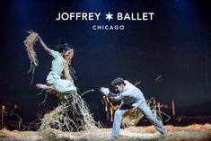 The Joffrey Ballet   Midsummer Night's Dream   Photo of Jeraldine Mendoza and Greig Matthews by Cheryl Mann