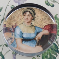 Jane Austen a perfect paperweight for my desk
