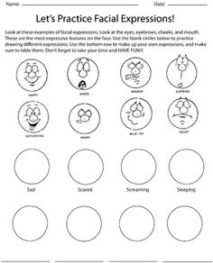 Free venn diagram text to self connections main character 1 lets practice facial expressions ccuart Gallery