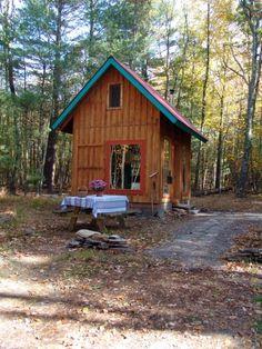 Twin Oaks camping cabin in the Catskills $75 a night