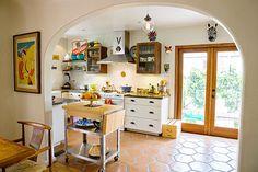 A Playful Spanish-Style Kitchen Kitchen Spotlight | The Kitchn