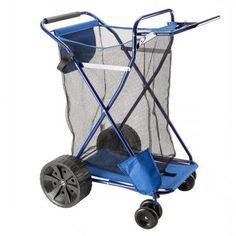 Copa, Beach Cart Ultra-Wheels and Mesh Storage Ultra Wheels, Fishing Cart, Beach Cart, Easy Rolls, Beach Hacks, Look Good Feel Good, Buyers Guide, Beach Trip, Mesh