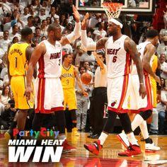 Miami Heat Win  Lebron James   Miami Heat overcome a 15- a7f42a7abc666