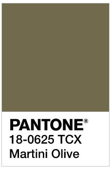 Image result for Martini Olive pantone