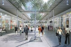 Inside RPBW's Bishop's Ranch project. (RPBW) Last summer, AN reported on Renzo Piano's City Center at Bishop Ranch, the architect's re-invention of the typ