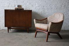 Dashing Adrian Pearsall Mid Century Modern Arm Chair 1806-C for Craft Associates (U.S.A., 1960's) | by K2MODERN