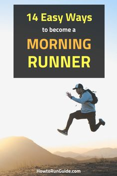 14 Tips - How to Be a Morning Runner. Want to start running in the morning? Become a morning runner with these 14 tips and helpful tricks. Running Challenge, Running Routine, Running Plan, Running Workouts, Running Tips, Easy Workouts, Learn To Run, How To Start Running, How To Run Faster