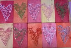 Crafts To Sell, Crafts For Kids, Arts And Crafts, Autumn Crafts, Spring Crafts, Valentine Crafts, Valentines, Kid Friendly Art, Weaving For Kids