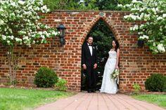 Farris Spring Wedding Bride and Groom  Photos by Ashley Eiban Photography