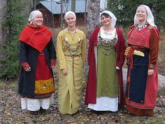 Hibernaatiopesäke: viking apron dress