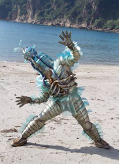 I searched for power rangers megaforce skyfish images on Bing and found this from http://powerrangers.wikia.com/wiki/Skyfish