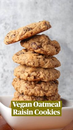 Vegan Baking Recipes, Healthy Cookie Recipes, Vegan Dessert Recipes, Healthy Cookies, Vegan Sweets, Healthy Baking, Healthy Desserts, Sugar Free Vegan Desserts, Healthy Vegan Snacks