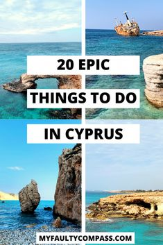 Steeped in history fascinating legends and natural beauty Cyprus is the jewel of the Mediterranean and the legendary birthplace of Aphrodite. Here's my pick of the top 20 things to do in Cyprus. Europe Destinations, Europe Travel Guide, Travel Guides, Aphrodite, Cool Places To Visit, Places To Travel, Kato Paphos, Nissi Beach, Travel Outfit Spring