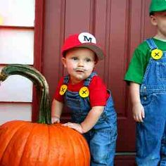 The Super Mario Brothers Halloween picture op, for when my boys get a little older.