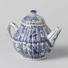 Teapot, Anonymous, c. 1700 - c. 1740