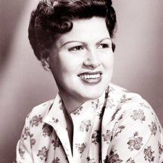 """Patsy Cline - uptown country singer Virginia Patterson Hensley was known professionally as Patsy Cline. In the early 1960s Nashville sound, Cline successfully """"crossed over"""" to pop music."""