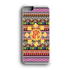 Monogram Tribal Geometric Aztec Custom for iPhone Case and Samsung Case
