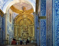 Visit São Lourenço de Almancil Church, perhaps the most beautiful church in Algarve.