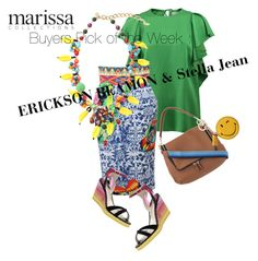 """Marissa Collections Buyers RESORT Pick : Erickson Beamon & Stella Jean"" by marissacollections ❤ liked on Polyvore featuring Lanvin, Stella Jean, Erickson Beamon, Anya Hindmarch, Sophia Webster, women's clothing, women, female, woman and misses"