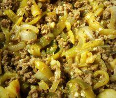 Chile Verde Picadillo HispanicKitchen.com