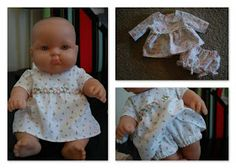 The Blueberry Moon: Nakey Baby ( doll clothes)