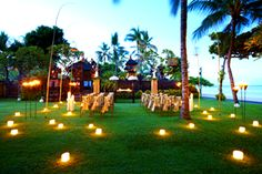 Luxury Bali Wedding Experience at Westin Nusa Dua...I'd dance all night.  Destination wedding idea Repinned by Moments Photography www.MomentPho.com