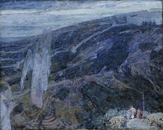 Angels Appearing before the Shepherds // ca. 1910 // Henry Ossawa Tanner // Smithsonian American Art Museum