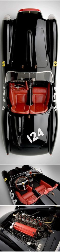 1957 Ferrari 250. This looks like the original batmobil