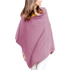 The amount of colors and sizes that this cashmere poncho comes in is outstanding! Check out the review here: http://www.ponchofashion.com/2015/01/29/parisbonbon-womens-100-crew-neck-draped-cashmere-poncho-review/
