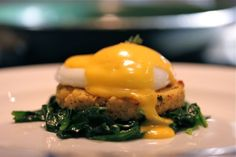 """Yum! Everyday Paleo crab cake Eggs Benedict. Definitely on the menu for this week. "" reminds me of Elizabeth"