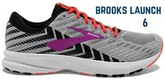 brooks-launch-6-running-shoes Neutral Running Shoes, Best Running Shoes, Brooks Launch, Thigh High Boots, On Shoes, Black Shoes, Black Patent Leather, Snow Boots, Shoes Online